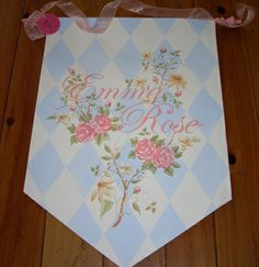 Personalized Hand Painted Canvas Banners