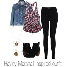 """""""Hayley Marshall inspired outfit/The Originals"""" by ginader on Polyvore"""