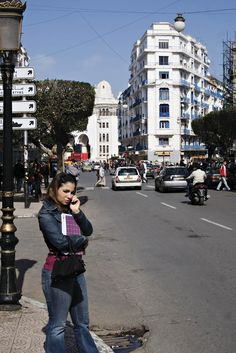 Algeria - Algiers. French Buildings, All About Africa, Roman City, Cultural Diversity, Largest Countries, African Countries, Urban Life, My Heritage, Antique Photos