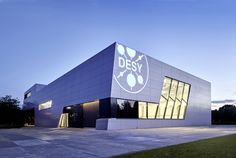 convincing #architecture of #DESY by new #buildings with joining and restrained #alucobond #facade