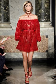 Emilio Pucci Spring 2012 Ready-to-Wear Fashion Show - Arizona Muse