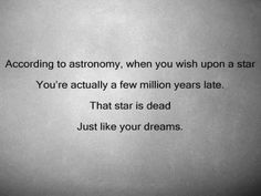 That thing about wishes...
