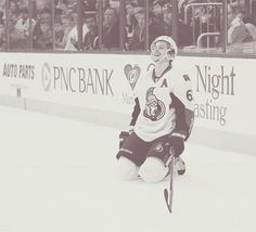 Erik Karlsson - hoping for a speedy recovery from a terrible injury