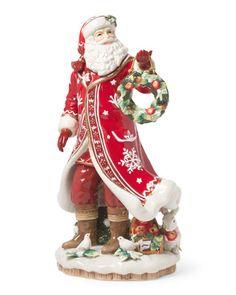 image of Winter Garden Santa Figurine