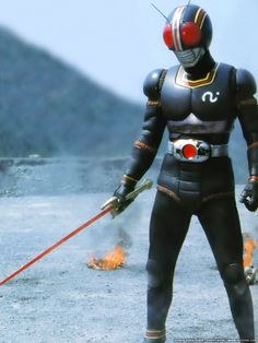 Kamen Rider Black, the greatest super hero! Live Action, Cinema Art, Raven Cosplay, Robot Cartoon, Japanese Superheroes, Hero Time, Showa Era, Kamen Rider Series, Anime Cat
