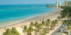 Beach Front in front of the El San Juan Resort....beautiful beach...beautiful hotel