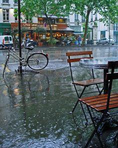 Pris sous la pluie, c'est encore joli.