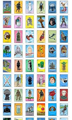 http://www.chepo.net/ Star Wars Themed Loteria!  for the nerd in me :)