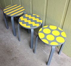 Love at Home: Ikea FROSTA Stools: Auction Re-do's