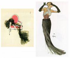 Rene Gruau Fashion Illustrations by lottie