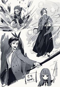 Manhwa, For Elise, Anime Drawings Sketches, Webtoon Comics, Ensemble Stars, Ship Art, Manga Comics, Anime Demon, Bungou Stray Dogs