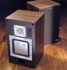 Sony Speakers, Audiophile Speakers, Monitor Speakers, Audio Design, Speaker Design, Sony Electronics, At Home Movie Theater, High End Audio, Loudspeaker