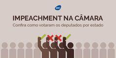 Veja aqui, como votou o seu Deputado contra ou a favor do Impeachment da Presidente Dilma Roussef.