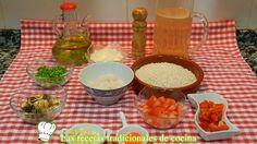 Receta fácil de arroz con bacalao a la Cántabra