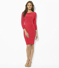 Lauren Ralph Lauren Boatneck Dress #Dillards