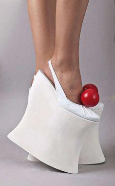 Скульптурные Burger Сандалии: Робер Табор обувь