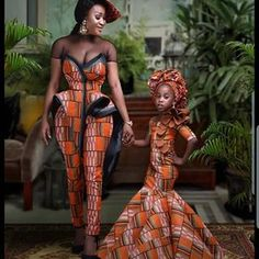 african fashion ankara Latest Trending and Stylish Ankara Long Gown Styles For Beautiful African Women African Dresses For Kids, African Fashion Ankara, Latest African Fashion Dresses, African Dresses For Women, African Print Fashion, Africa Fashion, African Attire, Mother Daughter Matching Outfits, Mother Daughter Fashion
