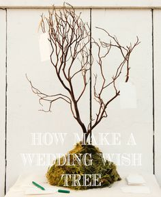 How to Make a Wedding Wish Tree