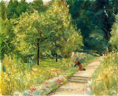 Gardener in the Wannsee Garden Max Liebermann -...