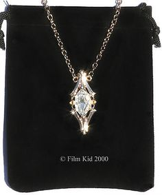 Galadriel Crystal Phial Necklace Elven LOTR Hobbit Smaug Lord Of The Rings