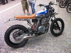 Honda Dominator 05, dosgville.es, moto, motorcycle, off road, custom, kiddo motors