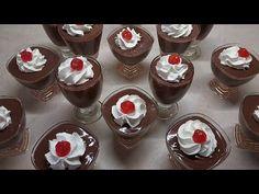 Mini Cupcakes, Pudding, Desserts, Youtube, Food, Tailgate Desserts, Deserts, Custard Pudding, Essen