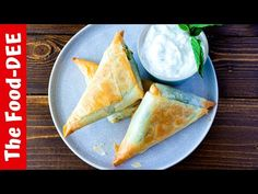 (17) The Best Spanakopita Recipe - YouTube Spanakopita Recipe, Pescatarian Recipes, Cooking Recipes, Healthy Recipes, Greek Recipes, Main Dishes, Good Food, Appetizers, Vegetarian