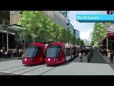 Sydney's Light Rail Future with Audio Commentary- Transport for New Sout...