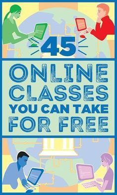 45 free online classes you can take (and finish) by the end of this year - Online Courses - Ideas of Online Courses - Whether youre interested in programming graphic design speech writing or conflict resolution theres bound to be a class for you. Free Education, Education College, Online College, Education Quotes, Education Requirements, Education Week, Education Degree, Education System, Music Education