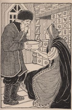 "Illustration by Lucy Fitch Perkins : illustration for ""Fairyland"" by Edward Dubs Shimer. (1924)"