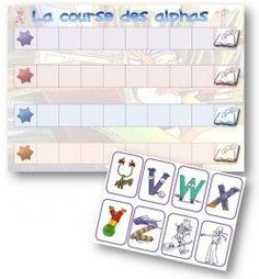 La classe de Sanléane: Jeux avec les Alphas