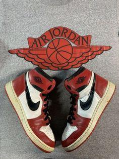 31779fc2c6f Details about Original Nike 1985 Air Sky Jordan 1