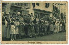 Greece Greek Army in Albania Front Argyrocastro Postcard Censored Feb 1941.