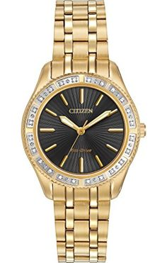 Women's Wrist Watches - Citizen EcoDrive Womens EM024251E Carina Watch * Check out this great product.