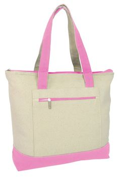 7 best Heavy Canvas Zippered Shopping Tote Bags images on Pinterest ... 962d1452ea6eb
