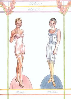 Collection By Design II (2 of 13): A Paper Doll History of Costume 1900-1949 by Norma Lu Meehan, Jean L Druesdow