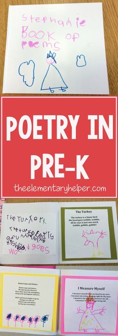 How to Use Poetry in your Preschool Classroom! by theelementaryhelper.com