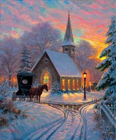 Carriage Chapel 1000pc Jigsaw Puzzle