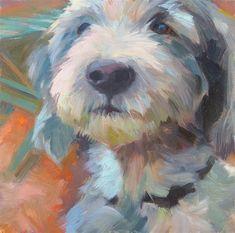 Anette Power | The Regal One Animal Paintings, Animal Drawings, Art Drawings, Illustrations, Illustration Art, Arte Pop, Pics Art, Dog Portraits, Dog Art