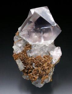 Fluorite - Boltsburn Mine, Rookhope District, Weardale, North Pennines, Co. Durham, England, UK