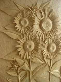 Sunflower Child's Bed by Danmcardle on Etsy - OH my goodness, that carving is AMAZING