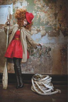 Big red curls by Sarah Laidlaw
