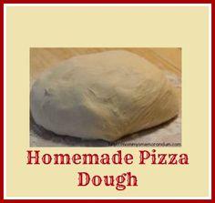 Pizza Dough #Recipe #pizza