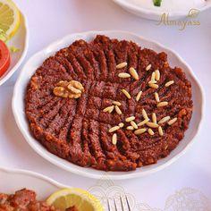 محمرة بالجوز والصنوبر من الأطباق اللي ما تتفوت #المياس #الرياض #مطاعم_لبنانية #ارمني
