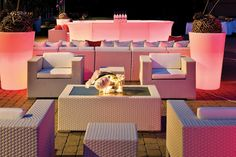 Modern and perfect for outdoors | SocialTables.com | Event Planning Software