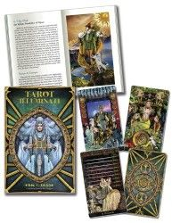Tarot Illuminati Kit... A profound quest for enlightenment drives us to grow, overcome challenges, and reach our full potential. Combining artistic beauty, symbolic depth, and intuitive vigor, the Illuminati Tarot warms the soul and frees the mind. This evocative tool of self-discovery—rich with ornate, vividly beautiful illustrations—will illuminate your path to higher purpose and true fulfillment. #NewAgeThinking