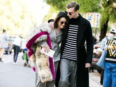 Street Style Fresh from Milan Fashion Week