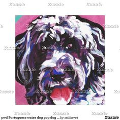 pwd Portuguese water dog pop dog art Follow the link to see this product on Zazzle! @zazzle #dog #dogs #dogstuff #dogpin #pet #pets #animals #animal #fun #buy #shop #shopping #sale #gift #dogowner #dogmom #dogdad #home #decor #homedecor #interiordesign #design #apartment #interior #artprint #art #funny #lol #cute