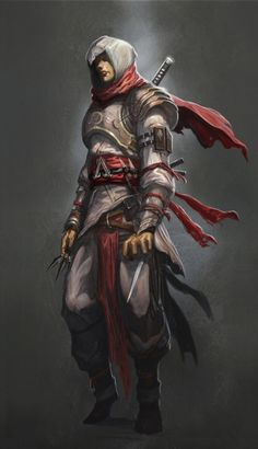 "Next Assassins Creed should be set in feudal Japan. Since ninja is already sort of an assassin in Japan, made him look like mix of samurai and ninja but still attain that ""assassin"" look. Assassins Creed Unity, Assassins Creed Origins, Assassins Creed Odyssey, Character Portraits, Character Art, Character Design, Character Concept, Concept Art, Ninja Assassin"