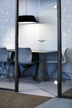 Corporate office designed by Metropolis arkitektur & design. Corporate Office Design, Chair, Interior, Projects, Furniture, Home Decor, Recliner, Indoor, Homemade Home Decor
